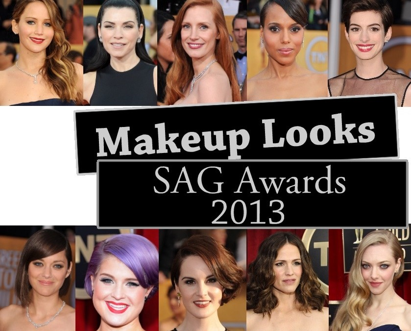 Makeup Recap – SAG Awards 2013