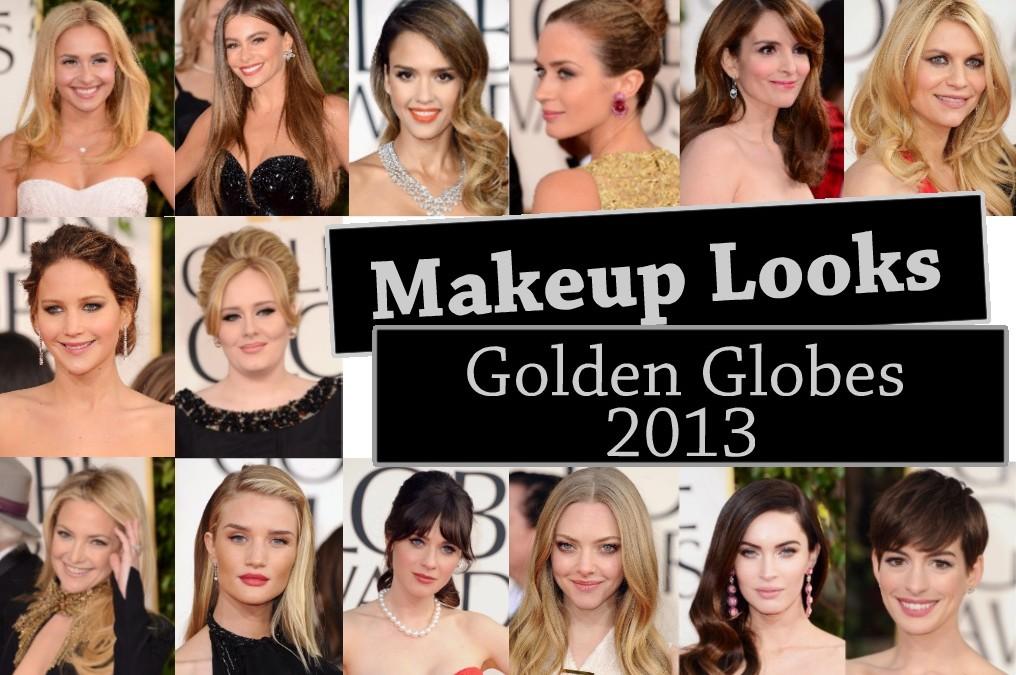 Makeup Recap – Golden Globes