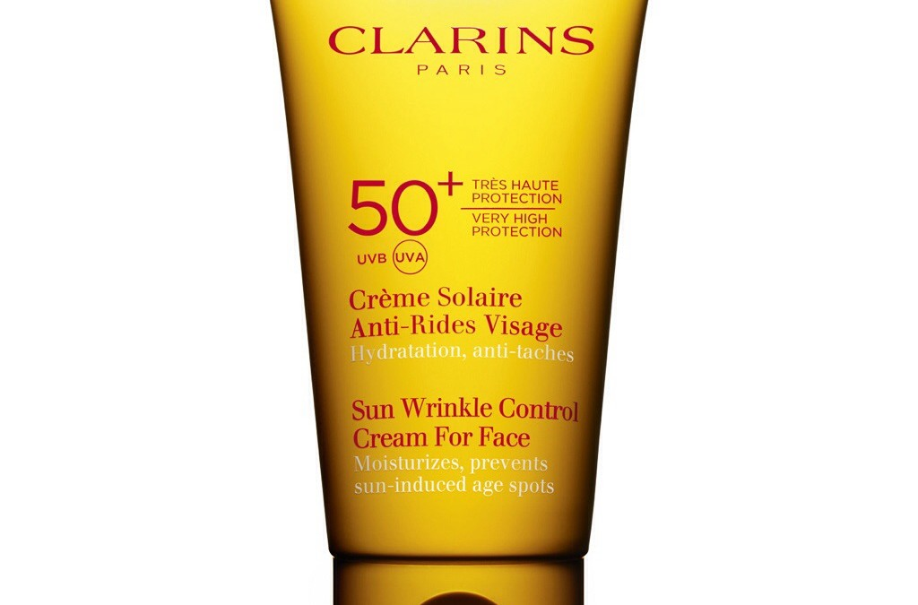 Clarins Sun Wrinkle Control Cream for Face +50