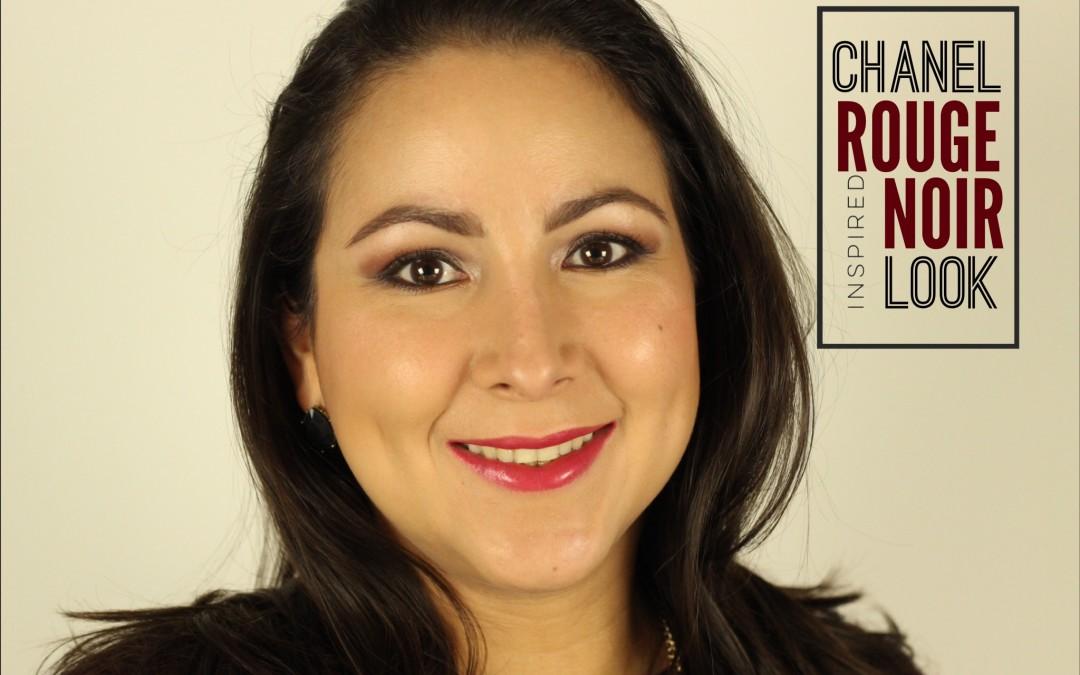 CHANEL Rouge Noir Inspired Look