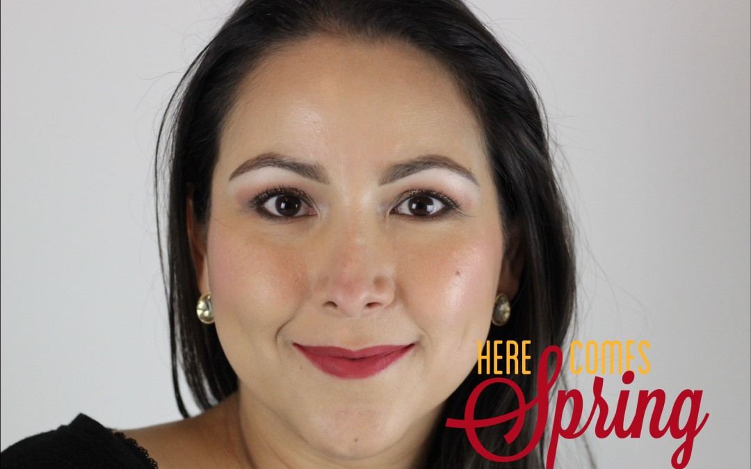 A Bright Makeup Look for Spring