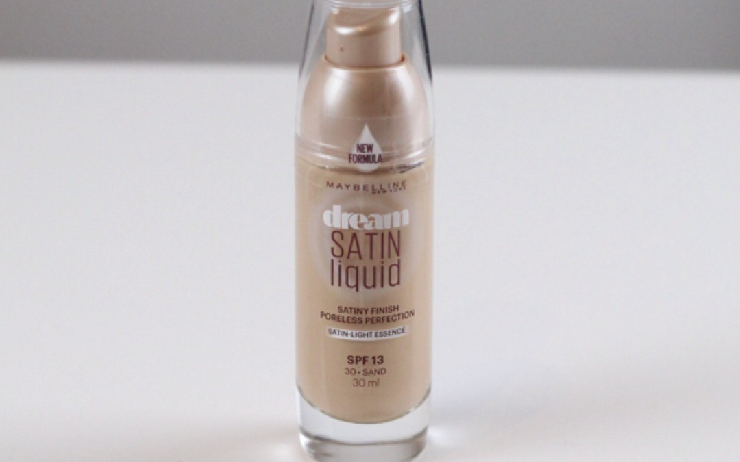 Base de Maquillaje Maybelline Dream Satin Liquid