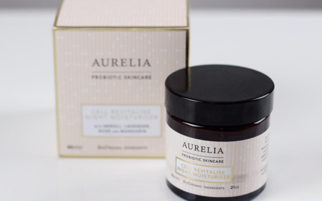 Aurelia Cell Revitalise Crema Humectante de Noche