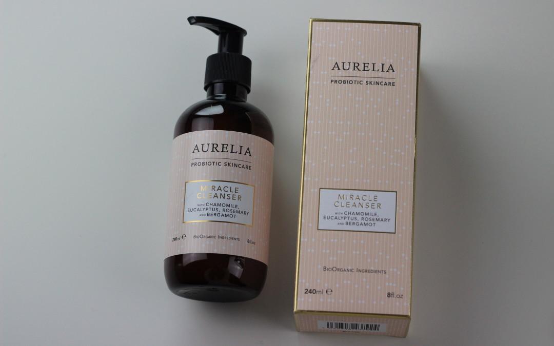 Crema Limpiadora Aurelia Probiotic Skincare Miracle Cleanser